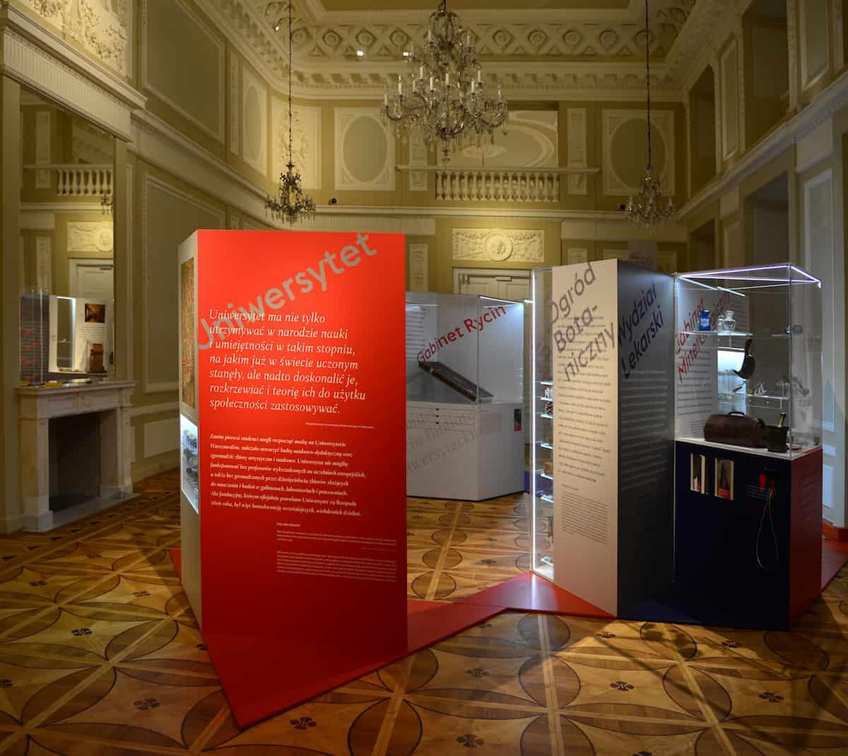 Wystawa Muzeum UW