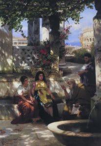Henryk Siemiradzki - Przyszle Ofiary Koloseum, Seminarium Duchowne