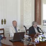 Prof. Tomkowski opowiada o listach Henryka Sienkiewicza. Fot. Janusz Rudziński / Muzeum UW