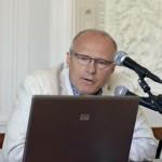 Wykład prof. Kowalczyka o Czesławie Miłoszu. Fot. Janusz Rudziński / Muzeum UW