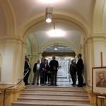 Wernisaż/finisaż – przemawia dyrektor Muzeum UW, prof. dr hab. Jerzy Miziołek