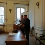 Promocja książki dr. hab. Tadeusza Rutkowskiego poświęconej Józefowi Brudzińskiemu